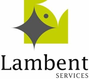 lambent logo words